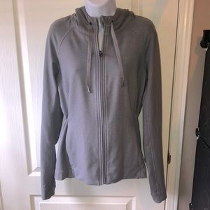 COPY - Grey Lululemon Jacket/Hoodie. Size 10